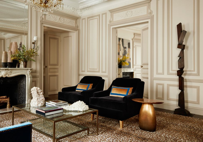 This Paris Apartment Will Make You Swoon- design addict mom