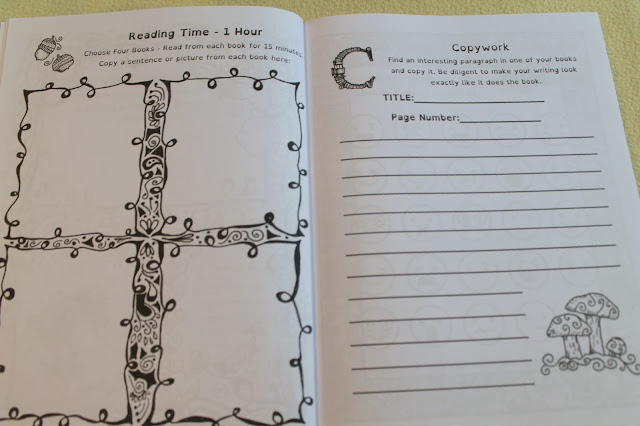 The Thinking Tree Autumn Homeschooling Journal