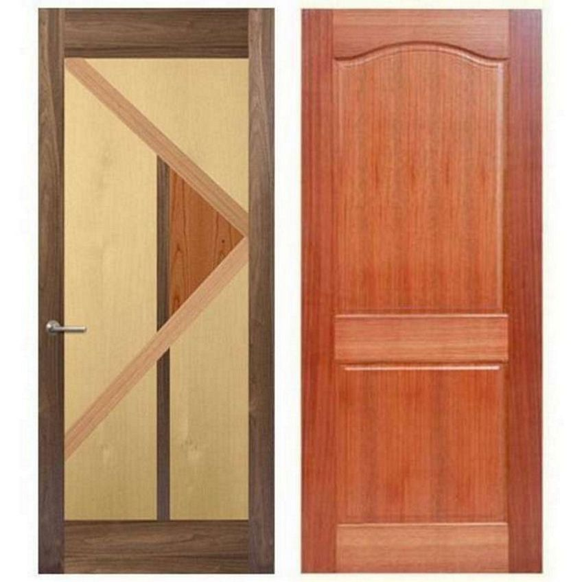 pintu double teakwood 2