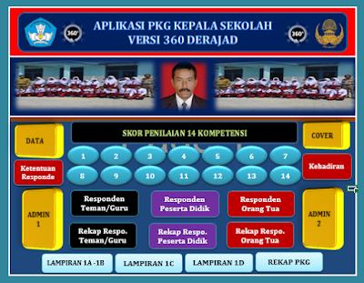Aplikasi PK Guru Khusus Kepala Sekolah
