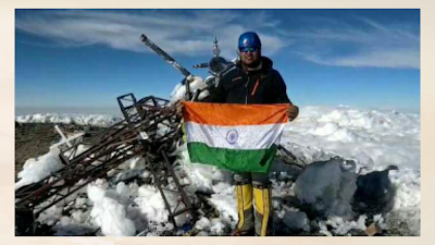 Satyupan principles of India are 7 peaks and 7 are the world's shortest mountaineers on volcanic eruptions