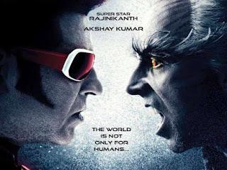फिल्म 2.0 में रजनीकांत के अपोजिट अक्षय कुमार विलेन का रोल निभाते हुए नजर आएंगे। रोबोट की रीमेक है।