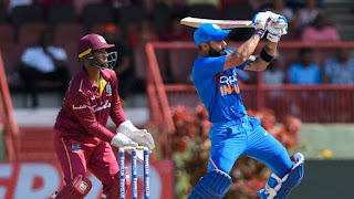 Virat Kohli 120 - West Indies vs India 2nd ODI 2019 Highlights