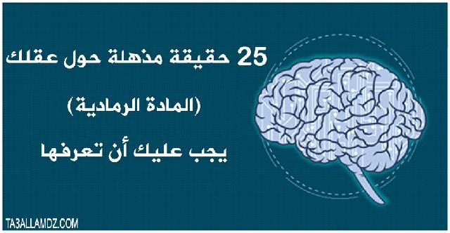 حقيقة مذهلة حول عقلك
