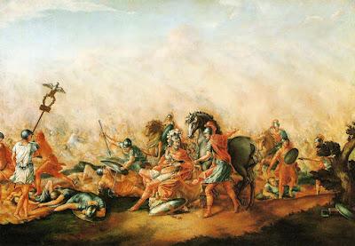 La batalla de Arausio