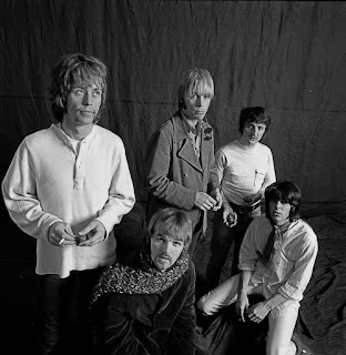 Spence, at far left, with Moby Grape in 1967.