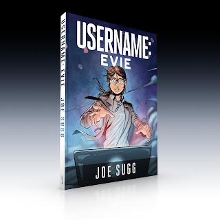 """Bestsellerowa powieść graficzna Joe Sugga """"Username: Evie""""  już w księgarniach!"""