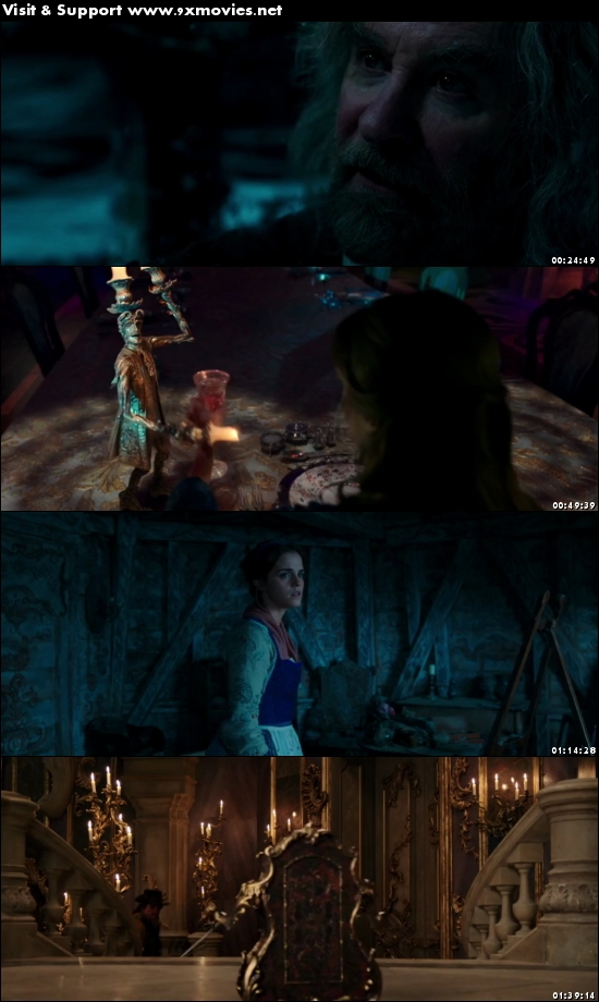 Beauty and the Beast 2017 Dual Audio Hindi