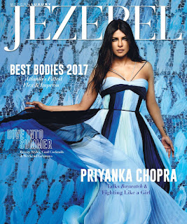 Priyanka Chopra Blue Gown