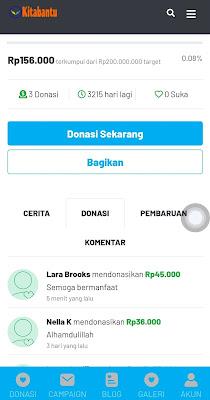 Kitabantu Pro - Situs Galang Dana Online Laravel