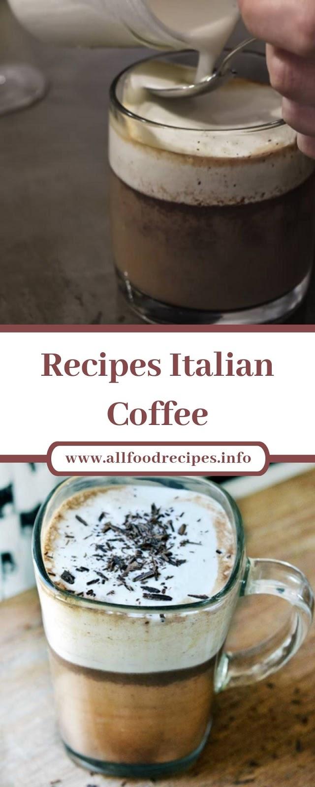 Recipes Italian Coffee