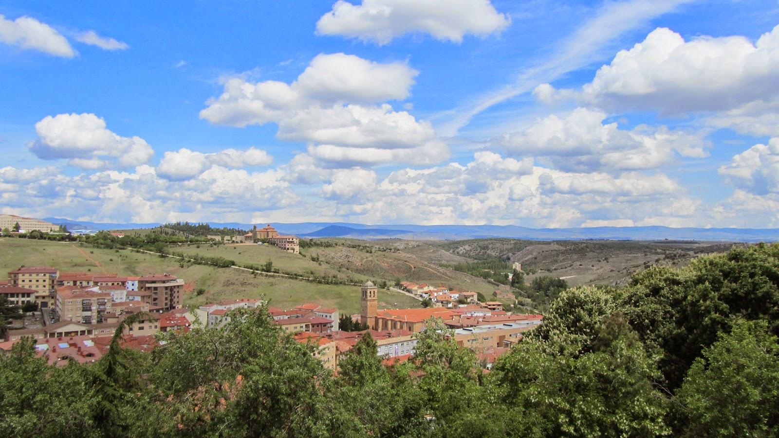 Vistas desde el Castillo en Soria_ameiseblog