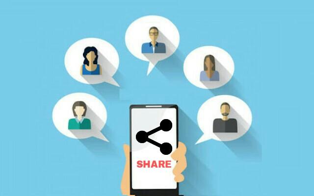 Membuat Tombol Berbagi Ke Sosial Media Di Atas Artikel