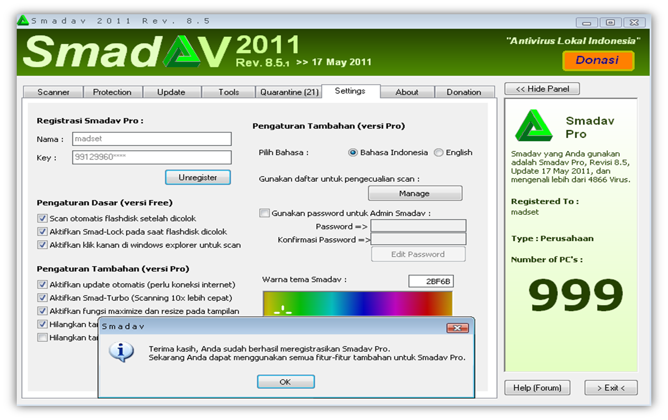 Fx Made Setianto Cara Membuat Smadav Free Menjadi Smadav Pro Dengan Cara Yang Free