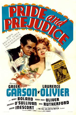 1940 Pride and Prejudice film poster