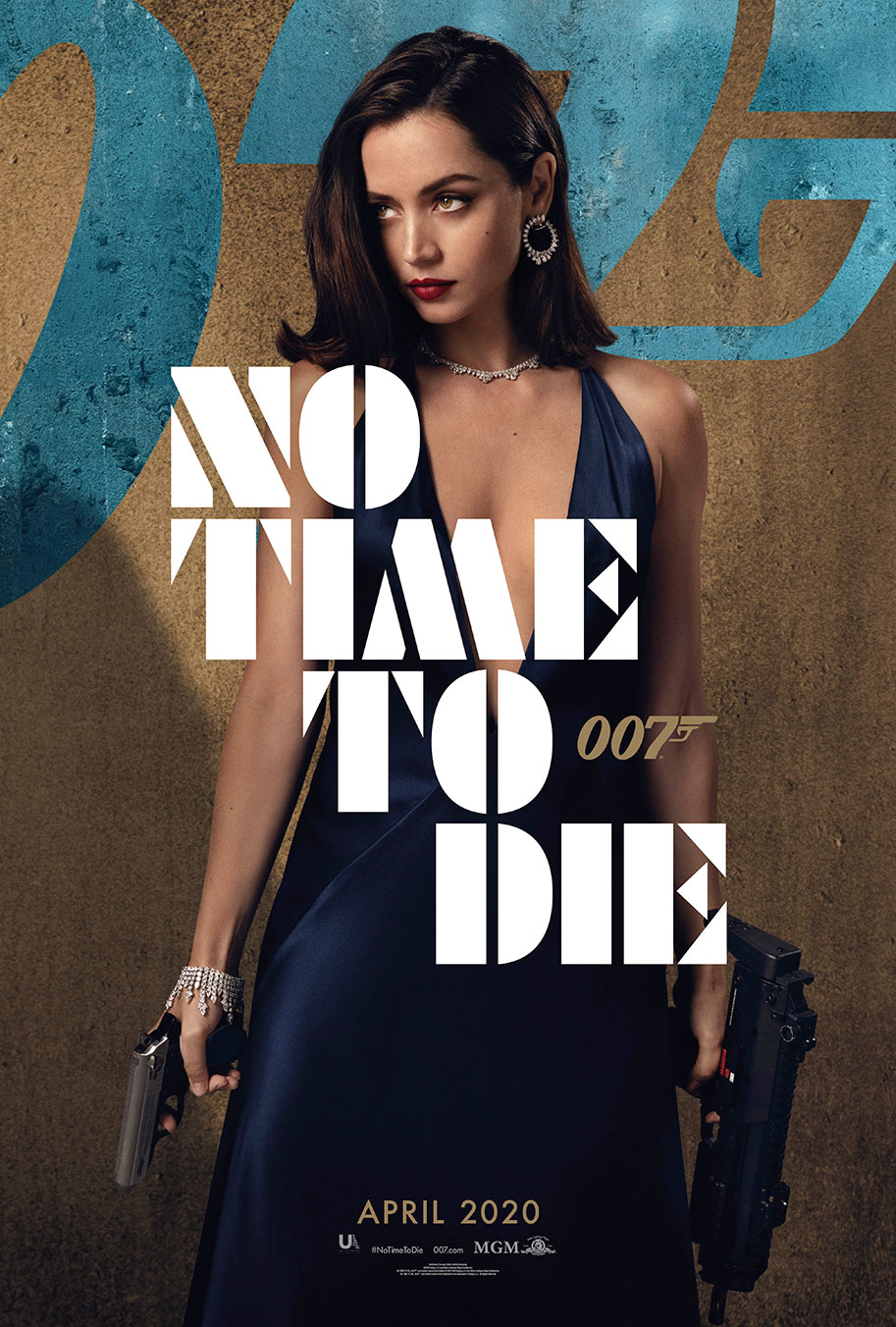 NO TIME TO DIE POSTER (#10 OF 12) - OKAY BHARGAV