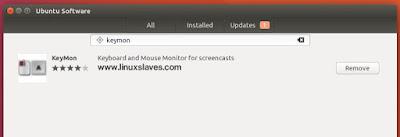 Installing Keymon in Ubuntu 16.04 LTS