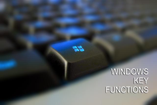 Fungsi Tombol Windows Pada Komputer