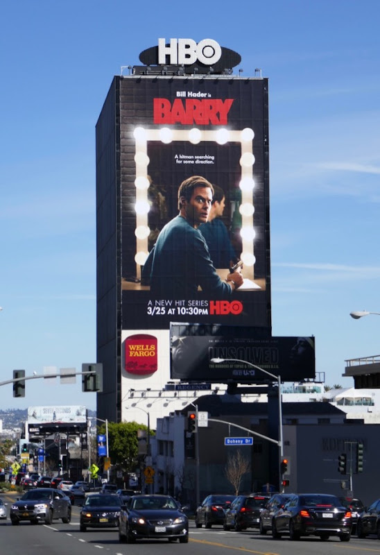 Giant Barry series launch billboard
