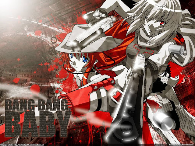 Burst Angel (Bakuretsu Tenshi) (24/24) + OVA (50MB) (HDL) (Latino) (Mega)
