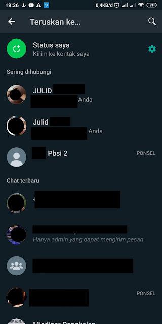 Cara Menghilangkan Sering Dihubungi di Whatsapp