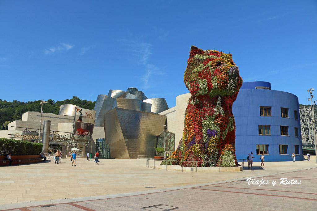 Puppy en el Guggenheim de Bilbao