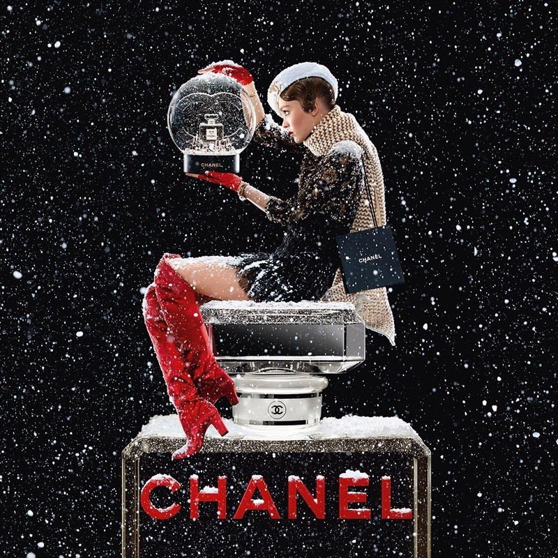 Lily-Rose Depp stars in Chanel No. 5 Holiday 2019 campaign