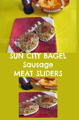 Sun City Sausage Bagel Meat Sliders