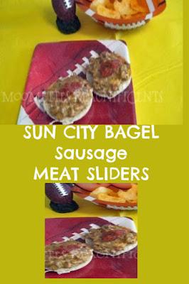 Sun City Sausage Bagel Meat Sliders