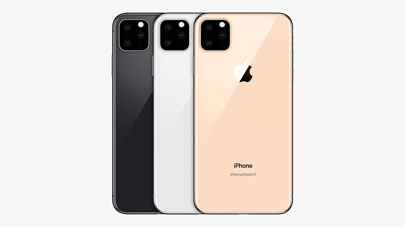 Apple iPhone with triple-cam soon?