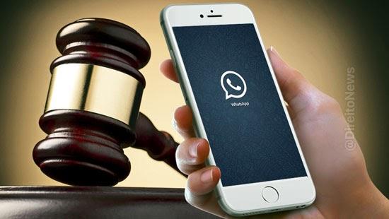 processo juiza video whatsapp trabalhador problemas