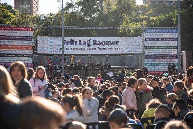1800 personas estuvieron presentes en Lag Baomer