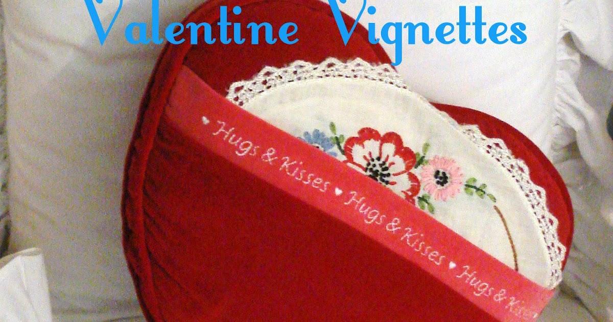 My Thrift Store Addiction Valentine Vignettes