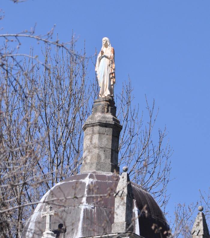 Statue vierge Sablières