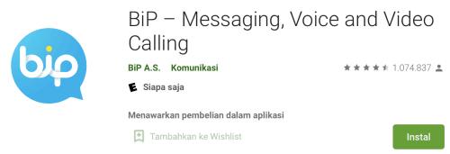 Cara daftar dan menggunakan aplikasi BIP Messenger