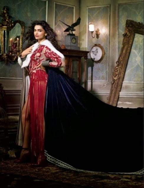 Latest Vogue Magazine Photo-Shoot Of Deepika Padukone