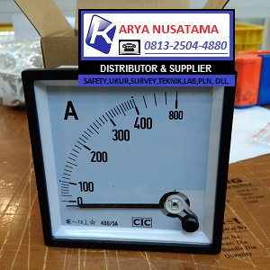 Jual Ampere Meter Type Range 0 - 400 /5Ap2 di Cirebon