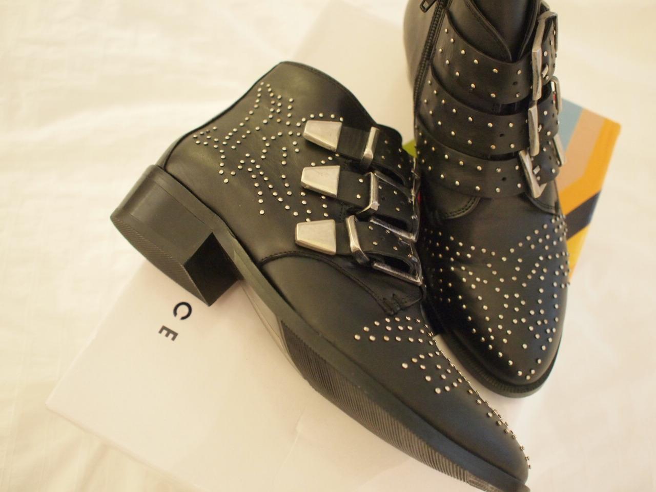Brand New Office Nighthawk Studded Boots