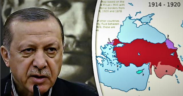 """Οι """"ιερές αγελάδες"""" της τουρκικής επεκτατικής γεωστρατηγικής"""