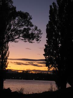 Lake Wanaka sunset, New Zealand