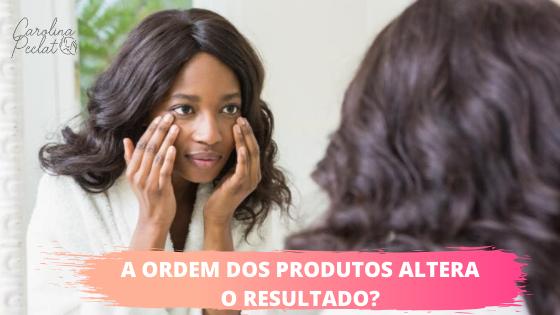 A ordem dos produtos altera o resultado?