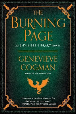 Bea's Book Nook, Review, The Burning Page, Genevieve Cogman