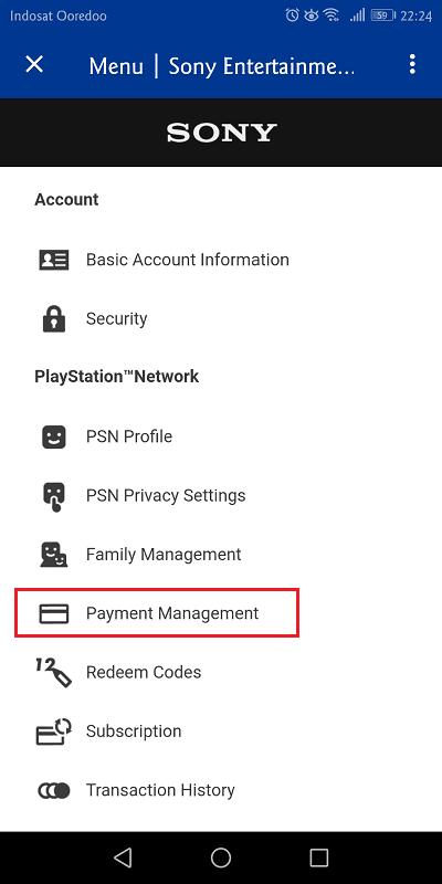 pilih payment management