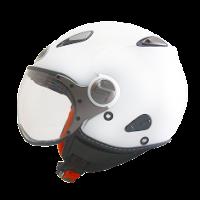 Helm KYT Elsico Solid White