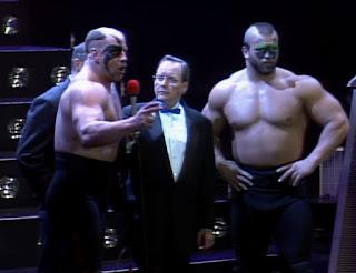 WCW Starrcade 1989 - The Road Warriors won the tag team tournament