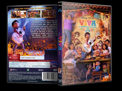 Capa DVD Viva - A Vida é Uma Festa [Custom]