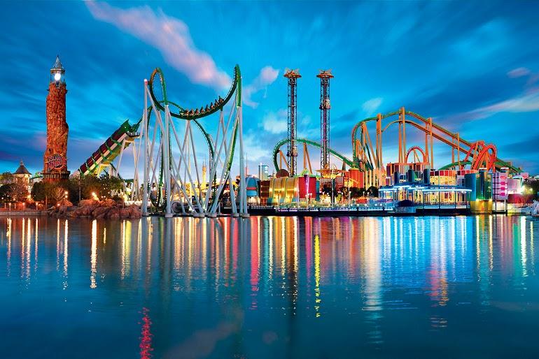 Parques no Universal Studios em Orlando