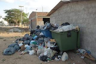 Prefeitura de Cuité deixa de recolher o lixo do CES/UFCG