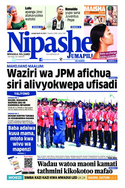 Habari kubwa za Magazeti ya Tanzania leo Aprili 18, 2021