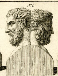 Artwork of the Roman God Janus